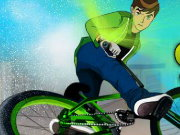 Thumbnail of Ben 10 Super Stunt BMX